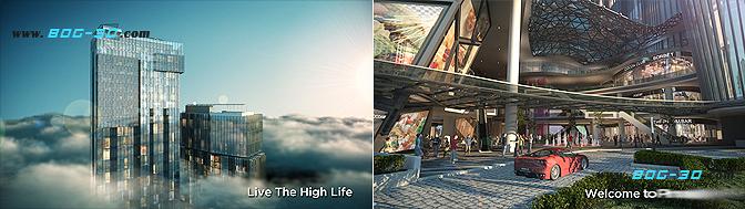 房地产动画制作公司商业综合体宣传片